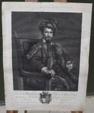 Engraving Medium (up to 36in.) Portrait Art Prints