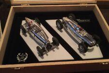 Pink-Kar Chrome Bugatti 59&Auto Union Type C Slot Car 1:32 NIB From Spain