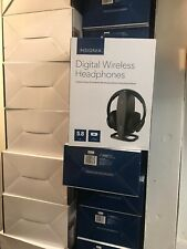 Open-Box Excellent: Insignia- RF Wireless Over-the-Ear Headphones - Black