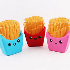 10.8*8cm Squishy french fries Cream Scented Squeeze Super Slow Rising Toy ~