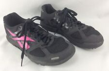 Reebok CrossFit Shoes Women s Size 8.5 DuraGrip Black Pink Athletic Workout  Shoe 7bf5352bd