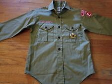 BOY SCOUTS OF AMERICA TROOP SHIRT NICE 1960S SMALL CLEAN BURBANK CALIFORNIA