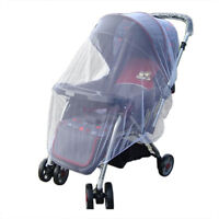 2Pcs Baby Buggy Pram Mosquito Cover Net Pushchair Stroller Fly Insect Protector
