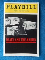 Death And The Maiden - Brooks Atkinson Playbill w/Ticket - May 30th, 1992