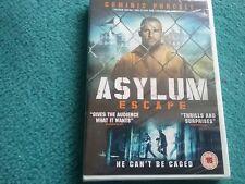 asylum escape dvd new and sealed freepost