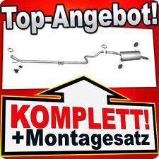 Auspuff CITROEN BERLINGO (B9) / PEUGEOT PARTNER II 1.6 HDI 75/90PS 2008-2010 P72