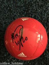 Toronto FC Dwayne De Rosario Autographed MLS Mini Soccer Ball COA