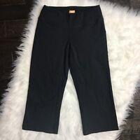 Lucy Women's XS Athletic Pants Cropped Powermax Black