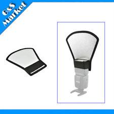 silvery /white Reflector For Speedlite/Flash light  Canon 580EX Nikon SB900 etc.
