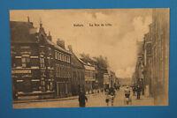 Nord 59 AK CPA Halluin 1914-18 Rue de Lille Maisons Cafe architecture  +++