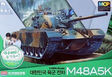 Academy 1:48 (13302): carri armati m48a5k ROK Army-con motore e telecomando