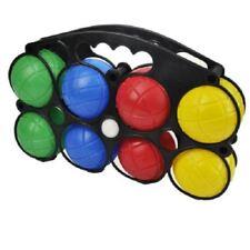 New 8pc Plastic Boule French Balls Case Garden Picnic Games Family Fun Kids Set