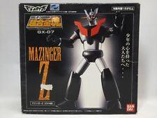 SOUL OF CHOGOKIN GX-07 MAZINGER Z OVA Ver. Die Cast Bandai