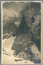 GRASLEITENHÜTTE foto cartolina non viaggiata Rifugio Bergamo al Principe Bolzano