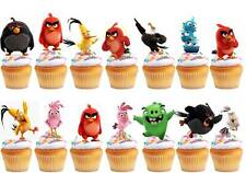 ANGRY BIRD STAR WARS MINI 12 PCS TOY PLAYSET NEW UK SELLER CAKE TOPPERS