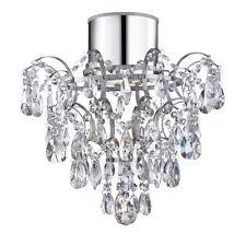 Noble cristal Luminaire de salle bain diamètre 36 cm CHROME 1X35W Lampe pour