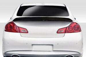 07-13 Fits Infiniti G Sedan D-Speed Duraflex Body Kit-Wing/Spoiler!!! 114319