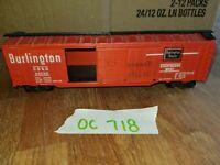 BURLINGTON ROUTE FREIGHT CAR, HO SCALE, oc718