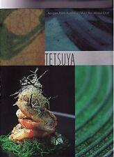 TETSUYA WAKUDA Cookbook- RECIPES-ILLUSTRATED- 1st Edition FIRST PRINTING- DJ