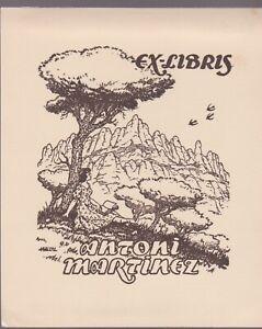 ex-libris Antoni martinez