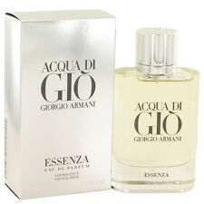 Aqua Acqua Di Gio Essenza by Giorgio Armani 2.5 oz Eau De Parfum Spray Men NIB