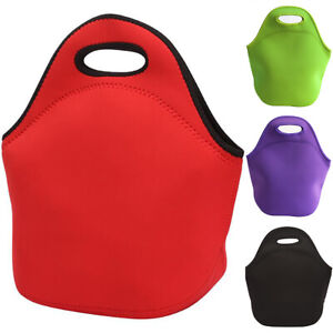 Adult Insulated Thermal Lunch Bag Picnic School Office Lunch Box Food Handbag
