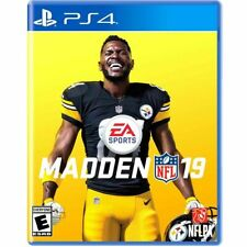Madden Nfl 19 Used Sealed (Sony PlayStation 4, 2018) Ps4 2019