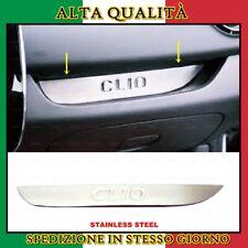 4 pezzi in acciaio inox Flexill 2012 Battitacco cromato spazzolato per Clio III anno di costruzione 2005