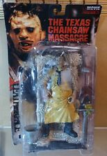 "McFarlane Toys 7"" LEATHERFACE The Texas Chainsaw Massacre Movie Maniacs 1998"