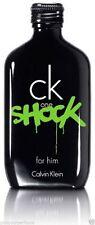 CK One Shock by Calvin Klein 3.3 / 3.4 oz Eau De Toilette Spray for Men NIB