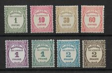 FRANCE - TIMBRES TAXE N° 55 à N° 62 NEUF *
