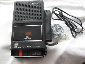 HITACHI...Portable tape player 1970'e / 80's Parts only