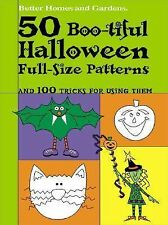 50 Boo-tiful Halloween Full-Size Patterns (Better Homes and-ExLibrary