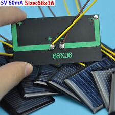 10Pcs Polycrystalline Solar DIY Panneau Solaire Solar Cells Modules 5V 60mA