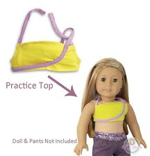 American Girl LE ISABELLE PRACTICE TOP Doll Box Girl of Year 14 Dance Tank NEW