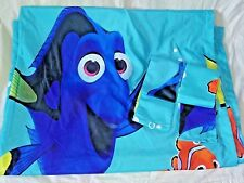 "Disney Finding Dory Nemo Set of 2 Window Curtain Panels with Tie Backs 42"" x 64"""