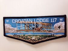 OA (BSA) Croatan Lodge #117 - 2017 National Jamboree Delegate Flap
