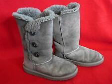 UGG Australia  Bailey Button Triplet Boots Grey Size 3