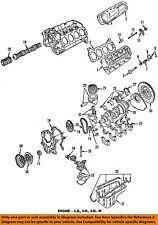 FORD OEM 92-93 E-350 Econoline Club Wagon-Engine Oil Pan Gasket F2TZ6710A