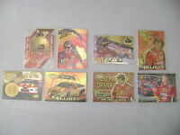 HIGH GEAR /PRESS PASS/PINNACLE  BILL ELLIOTT LOT OF 8  FOIL INSERT CARDS