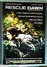 Cinema Poster: RESCUE DAWN 2007 (US V1 One Sheet) Christian Bale Werner Herzog