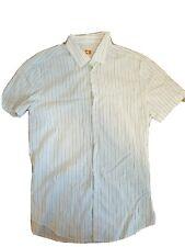 Hugo BOSS Orange Label Striped Short Sleeve Shirt XL