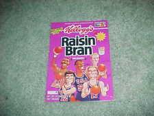 1992 Kellogg's Raisin Bran Cereal Box Back w/Larry Bird John Stockton