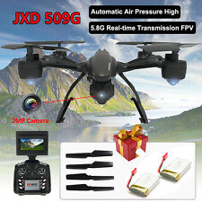 JXD 509G 5.8GHz FPV Drone 4CH HD 2.0MP Camera RC Quadcoptr Helicopter w Battery