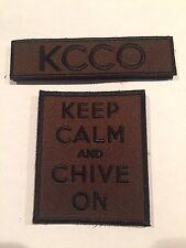 the Chive *Authentic* Military Patch 2-pack
