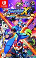 New Nintendo Switch Rockman X Anniversary Collection 2 OFFICIAL IMPORT JAPAN