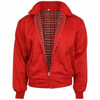 Relco Red Harrington Jacket Skinhead Mod Scooter Ska Northern Soul XS - XXXL
