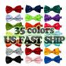 Classic 35Color Fashion Men's Adjustable Tuxedo Bowtie Wedding Bow Tie Necktie