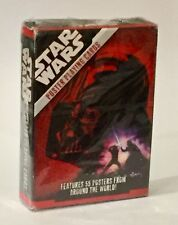 Star Wars Cartamundi Poster Playing Cards Set Brand New Sealed