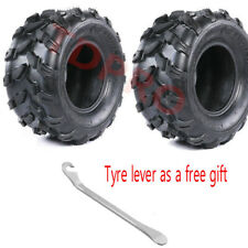 Pair 18x9.5-8 18x9.50-8 Rear Tyre Tubeless fr ATV UTV QUAD BUGGY TURF LAWN MOWER